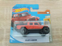 2020 Hot Wheels '20 Jeep Gladiator - 1:64 1/64 Baja Blazers 4/10 Red