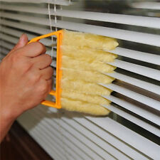 Window Blind Fiber Brush Shade Shutters Air Conditioner Duster Dirt Cleaner UK #