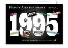 23rd Wedding Anniversary Card Souvenir of 1995 (2018)