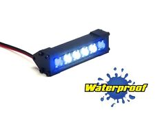 Gear Head RC 1/10 Scale Six Shooter LED Light Bar - White and Blue GEA1175