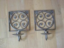 Metal Contemporary Candlestick Holders