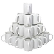 36 Tazze 325ml in Ceramica Bianca per Stampa a Sublimazione Con Scatole Bianche