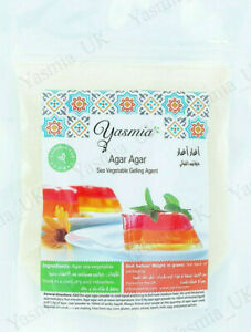Agar Agar Powder 50g Vegan Vegetarian Gelatin Halal Gelatine Jelly Falooda