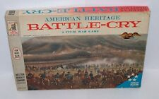 American Heritage Battle-Cry Board Game A Civil War Game Vintage