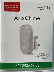Arlo AC1001-100UKS Smart Chime Home Security Camera - White