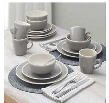 💯 Gourmet Basics Melanie Dinnerware Stoneware Set 16 Piece Serving for 4