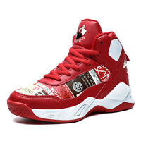 Kids Boys Basketball Shoes Fashion Tide Sneakers Athletic Running Sports Outdoor