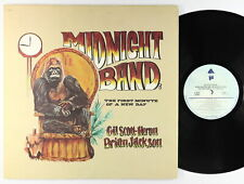 Gil Scott-Heron & Brian Jackson - Midnight Band LP - Arista VG+