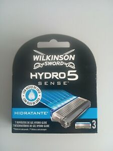 WILKINSON SWORD - HIDRO5  Sense (3 Recambios Hidratante)