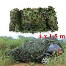 13FTx5FT Woodland Shooting Hide Army Camouflage Net Hunt Camp Camo Netting USA