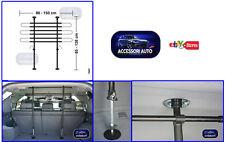 Griglia divisoria -  Separatore auto - trasporto cane merci baule regolabile