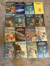 Lot of 16 Hardy Boys Vintage Hardcover Books by Franklin W. Dixon