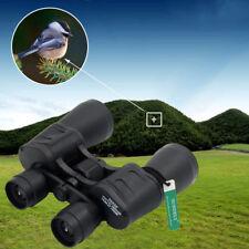 UK 20x50 HIGH POWER PORRO PRISM BINOCULARS & CASE, CAPS BAG, STRAP, BIRDWATCHING