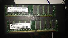 512MB Micron MT8VDDT6464AG-40BDB Non-ECC PC3200 400MHz DDR Desktop Memory