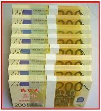PRECIOSA REPLICA DE BILLETE DE 200 EUROS / GRAN CALIDAD - NUEVO PLANCHA OFERTA /