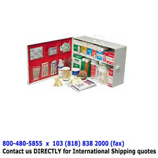2-Shelf FULL FIRST AID CABINET - Emergency Supply Kit Economy First Aid Station