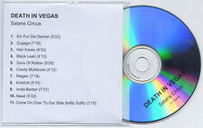 DEATH IN VEGAS Satan's Circus 2004 UK 11-trk promo test CD