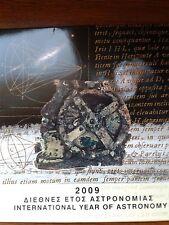 grèce bu 2009 (astronomie + pièce de 10 euros argent)