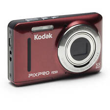 Kodak FZ53-RD Red PIXPRO FZ53 Digital Camera with 16.15 MP and 5x Optical Zoom