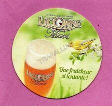 ancien sous-bock  LICORNE MARS  (envoi monde gratuit) sb1964