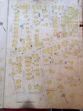 1928 Sanborn Boston West Roxbury Jamaica Plain, Ma. Atlas Map Plats 2 & 3