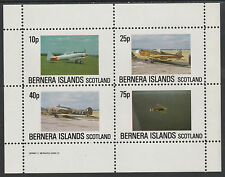 GB Locals - Bernera 2844 - AIRCRAFT perf sheetlet unmounted mint