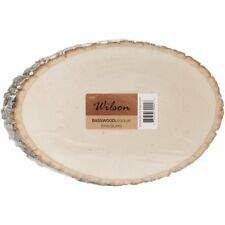 Basswood Plaque (Round/Oval)