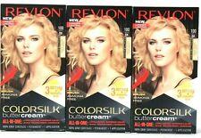 3 Ct Revlon Colorsilk Buttercream 100 Extra Light Natural Blonde Permanent Dye