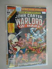 JOHN CARTER WARLORD OF MARS ANNUAL 2 F/VF MARVEL PA2-118