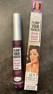 theBalm PLUMP YOUR PUCKER Lip Gloss Flüssiger Lippenstift ENHANCE 7ml