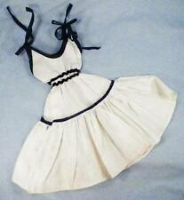 Arranbee Nanette White Dress Blue Trim Sundress for 17in Fashion Doll Vintage