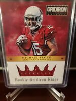 2012 Panini Gridiron Kings Materials #292/299 Michael Floyd #6 Rookie