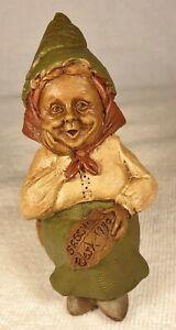 SASSY-R 1990~Tm Clark Gnome~Cairn Studio Item #5125~Ed #32~Story~Shelf Sitter