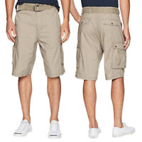 Levi's Men's Premium Cotton Cargo Shorts With Belt Relaxed Fit 13581-0012