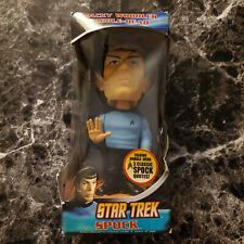 Star Trek Funko Mr. Spock Bobble Head 3 Phrases 2009 battery tab intact