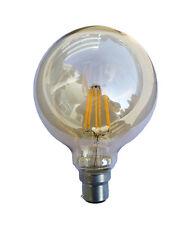 CLA Lighting 6W 2700K LED B22 G95 Decorative Sphere Filament Lamp Bulb Globe CF1