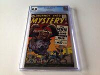 JOURNEY INTO MYSTERY 76 CGC 4.0 GENIE DJINN JACK KIRBY STEVE DITKO MARVEL COMICS