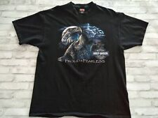 VTG 1997 Harley Davidson Rome NY Men's Made in USA Double Sided Graphic Tee XL