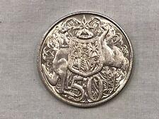 1966 Australian Round 50 Cent Coin 80% Silver