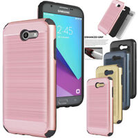 For Samsung Galaxy J7 Prime / Sky Pro Shockproof Hybrid Rugged Phone Case Cover
