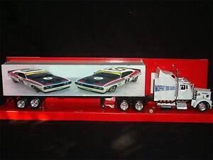 Ford Allan Moffat Bathurst 1977 1-2 Custom kenworth truck 1/43 car transporter