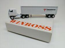 Transamerica Trailer Services '88 Winross Truck Diecast white