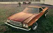 Advertising Postcard 1973 Ford Ranchero - Clayton, Missouri