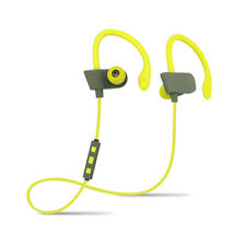 Bluetooth Sports In-ear Secure Fit Earphones with built-in microphone for Gym