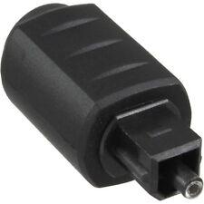 inline® opto optisch audio kupplung 3,5mm klinke buchse an toslink tlp stecker