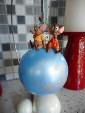 DISNEY Parks Store Cinderella Gus and Jaq Ball Ornaments
