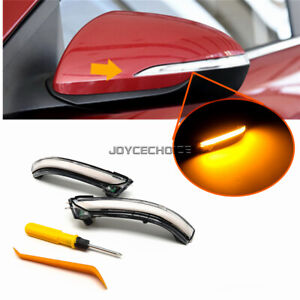 For Hyundai Elantra AD GT Avante 16-19 LED Dynamic Side Mirror Sequential Light