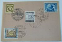German Stamps 1942 1943 with Post Office Stamps