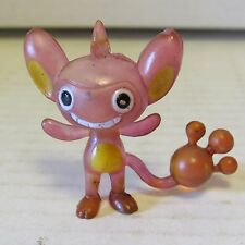 "Authentic W1 Pokemon Clear Figure 1.5"" Aipom Catch Them All Nintendo Tomy"