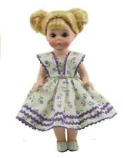 "Adorable Purple Print Sun Dress for 8"" Ginny or Madame Alexander Doll"
